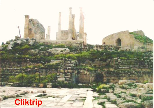Templo de Zeus - Jerash - Jordânia