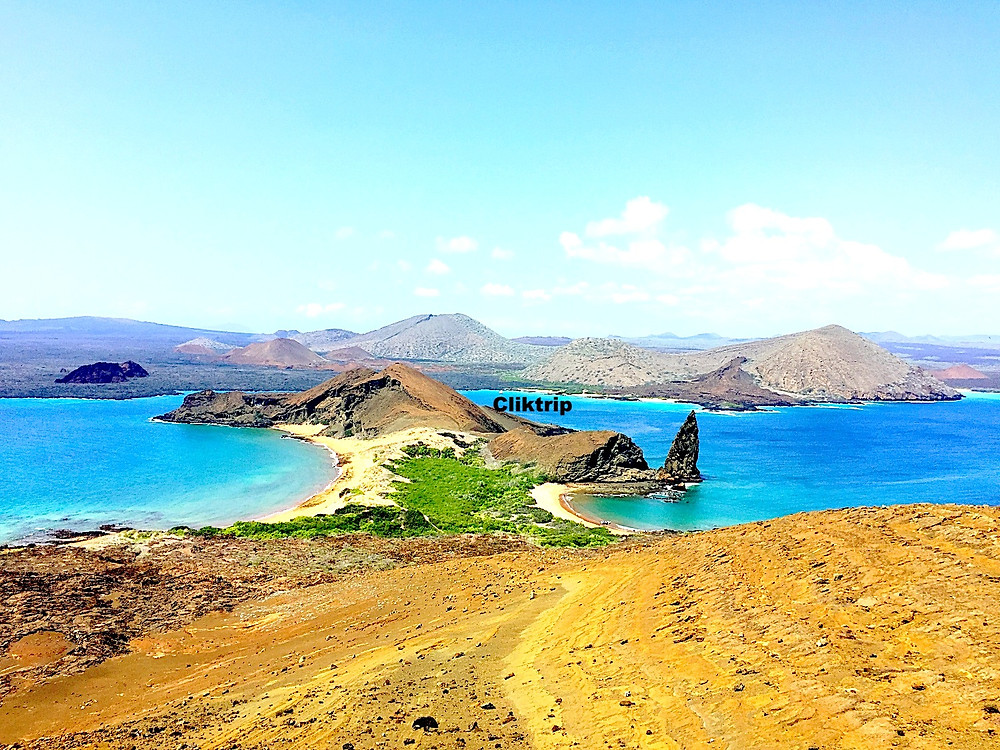 Ponto mais alto Galápagos  - Bartolomé
