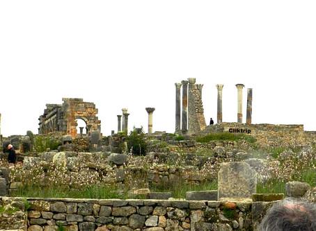 Marrocos - Sítio arqueológico Volubilis