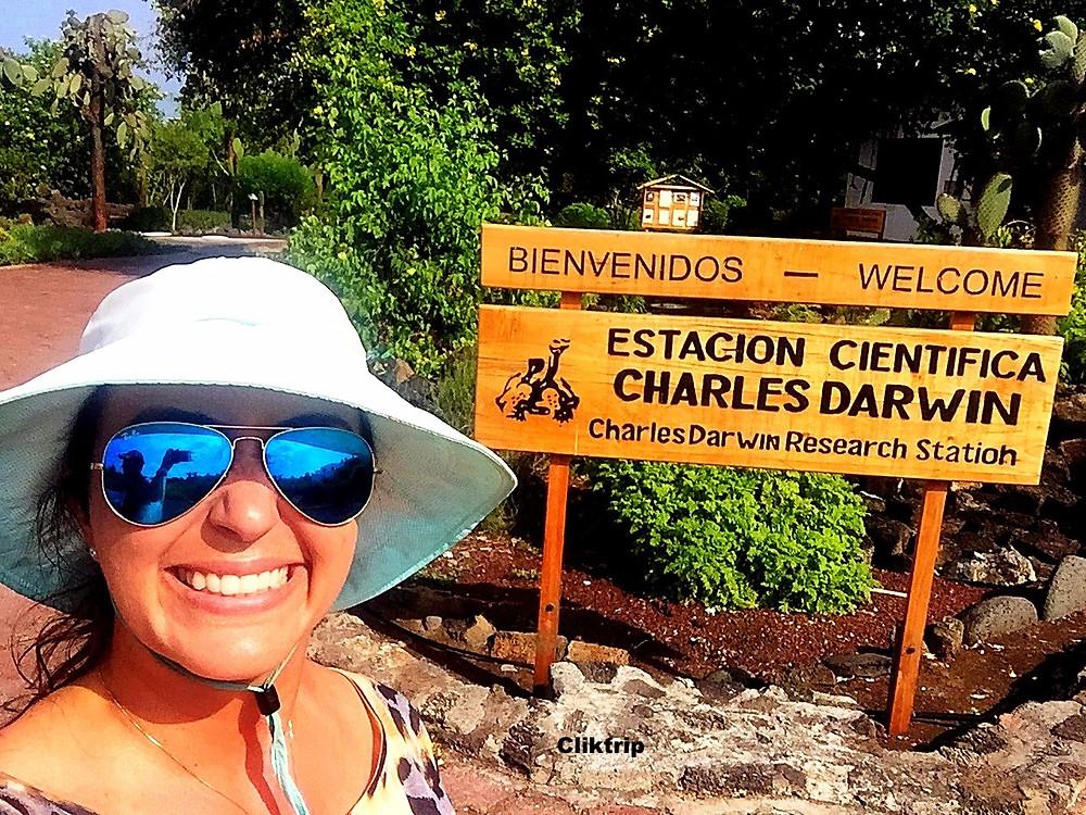 estação Charles Darwin Galapagos