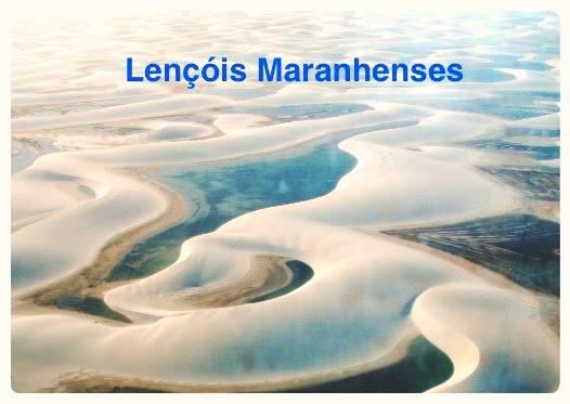 Lagoas no Lençóis Maranhenses