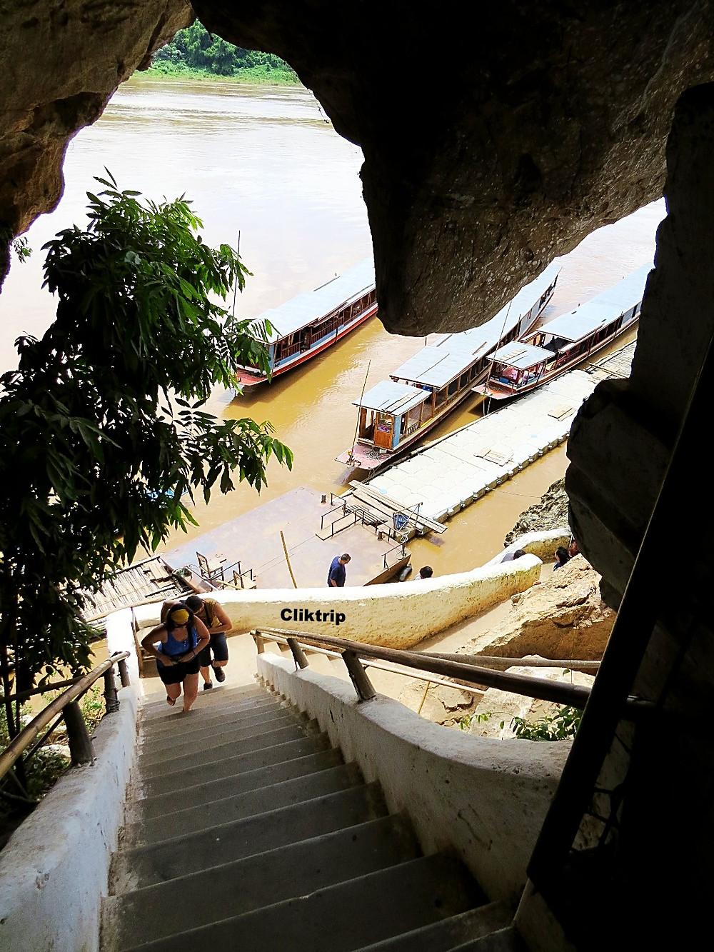 Santuario no Rio Mekong
