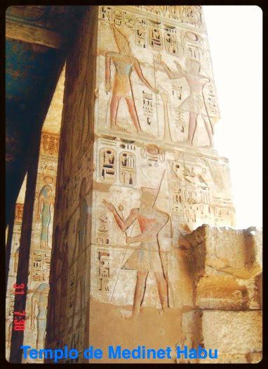 Detalhes em cores originais -Egito