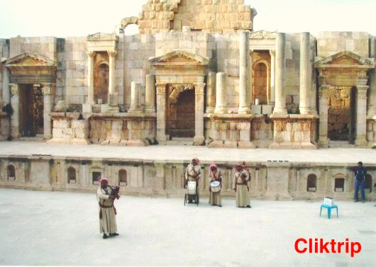 Menor Teatro do Norte -Jerash -Jordânia