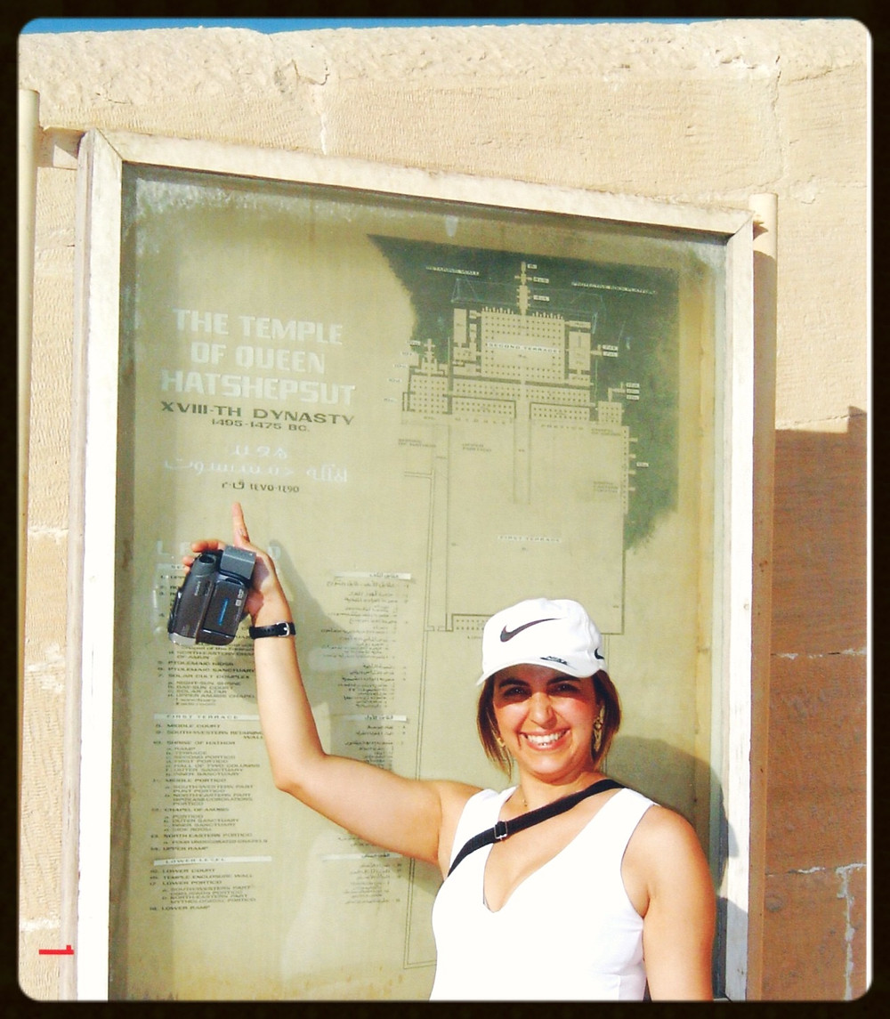 Entrada do Templo de Hatshepsut - Egito