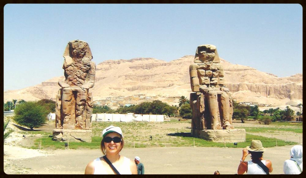 Colossos de Menon - Egito
