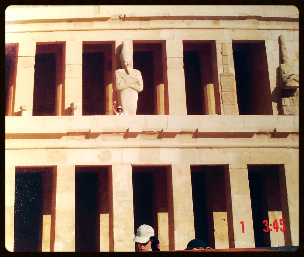 Templo monumental -Egito