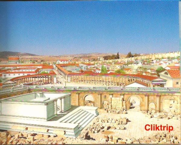 Cardo Maximus - avenida principal Jerash