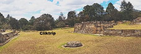 Iximché - primeira Capital da Guatemala
