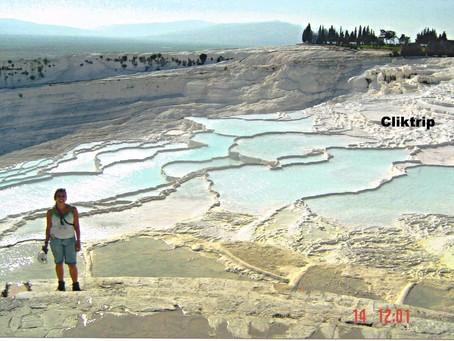 Pamukkale  - Onde a natureza faz seu show ; Hierápolis - Cidade Sagrada