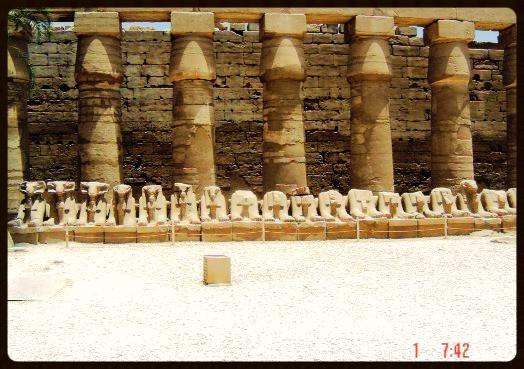 Avenida de Carneiros -Karnak - Egito