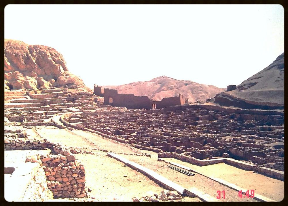 Restos da vila dos obreiros - Egito
