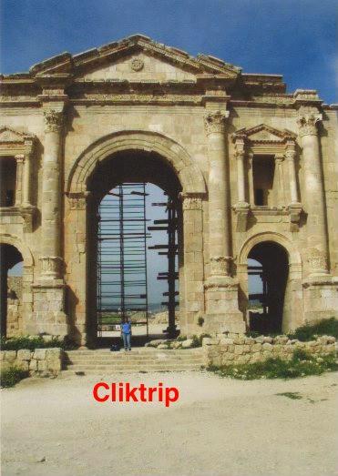 Arco de Adriano - Jerash