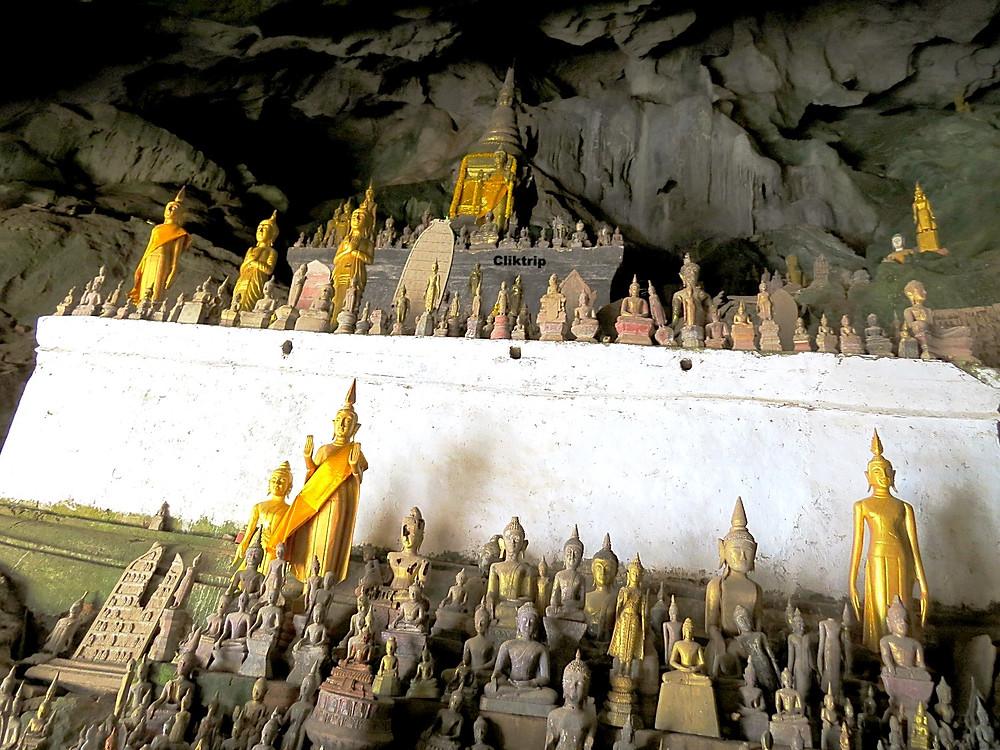 Santuário no rio Mekong - Laos