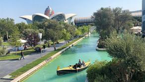 Baku , a capital do Azerbaijão : Contraste entre o Clássico e o Moderno