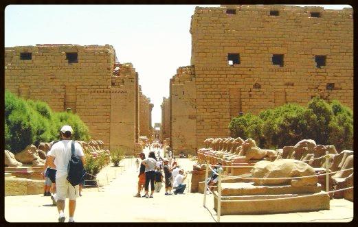 Avenida de Carneiros - Karnak -Egito