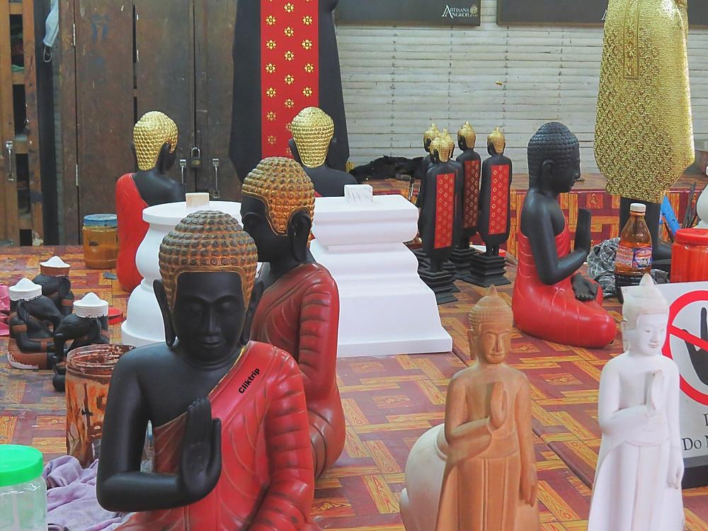 Artesanato no Camboja