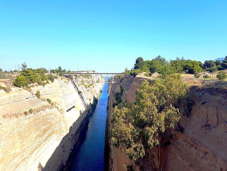 Canal de Corinto - Uma obra de engenharia milenar