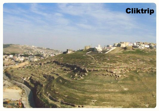 Amã - Jordânia - Cidadela Jebel al Qala'a