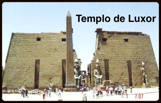 Entrada do Templo de Luxor - Egito
