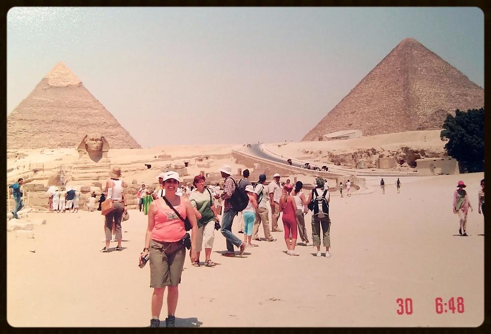 Planície de Giza - Egito