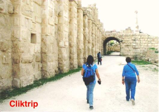 Muralhas de Jerash - Jordânia