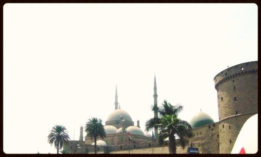 Cúpulas da Mesquita de Alabastro - Egito
