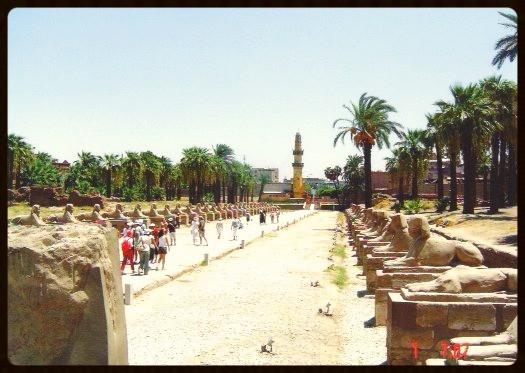 Avenida de esfinges - Luxor - Egito