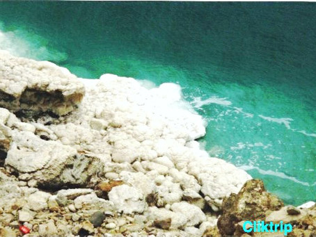 Mar Morto - o ponto mais baixo do Planeta Terra