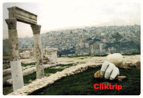 Templo de Hércules - Amã - Jordânia