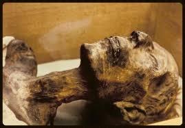 Múmia de Ramsés II - cartão postal - foto autor desconhecido