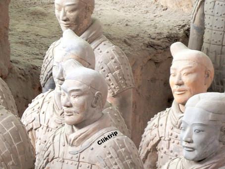 Xian - Exército dos guerreiros de Terracota