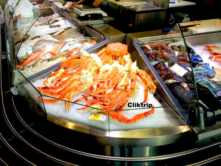 Bergen - mercado de peixe
