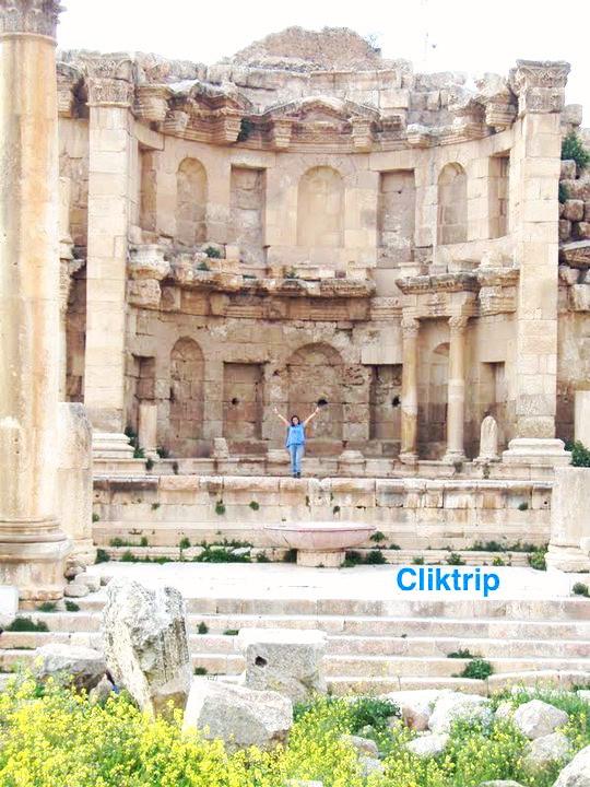 Ninfeum - Jerash - Jordânia