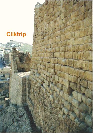 Muralha externa do Castelo de Al Kerak