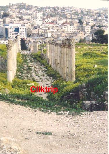 Cardo Maximus - Jerash - Jordânia