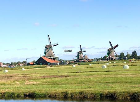 Zaanse Schans ,  Volendam e Marken : Cenário tipicamente holandês !