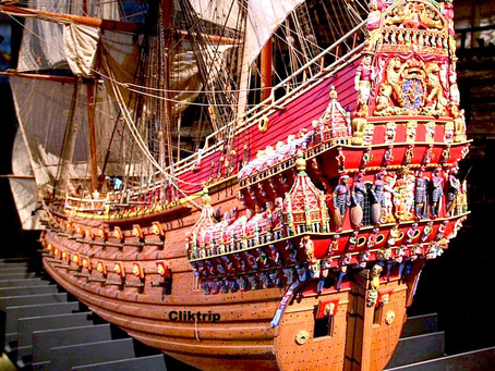 Museu de Vasa em Estocolmo - O resgate de um Naufrágio