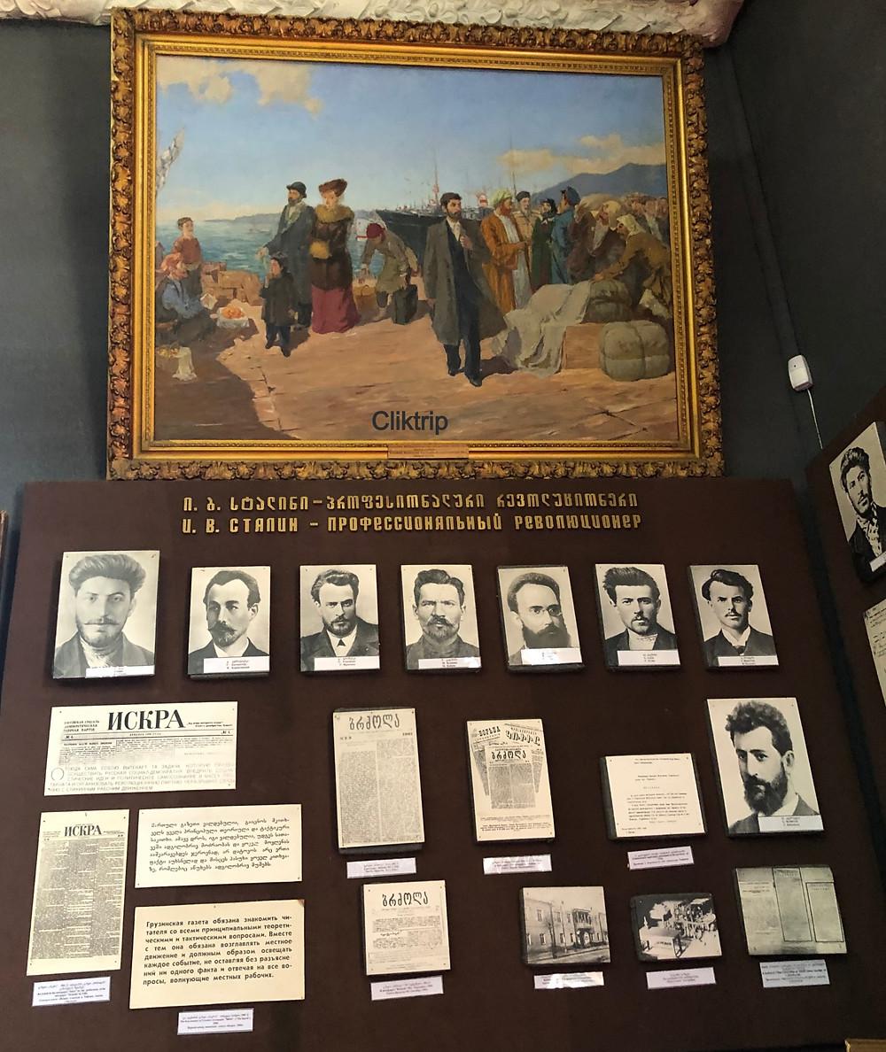 Stalin jovem