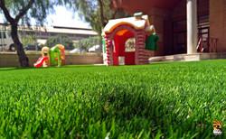 Artificial Grass Children
