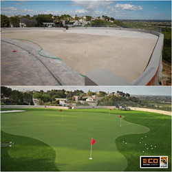 PuttingGreen Pro - Before and after