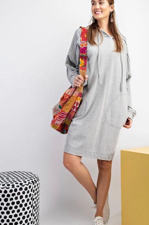 Cozy hoody dress