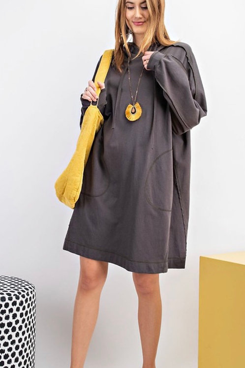 Cozy hoody dress