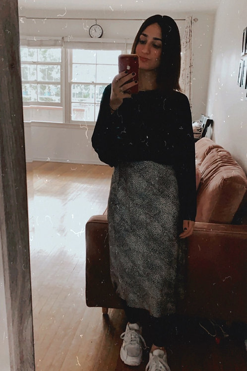 Feline slip skirt