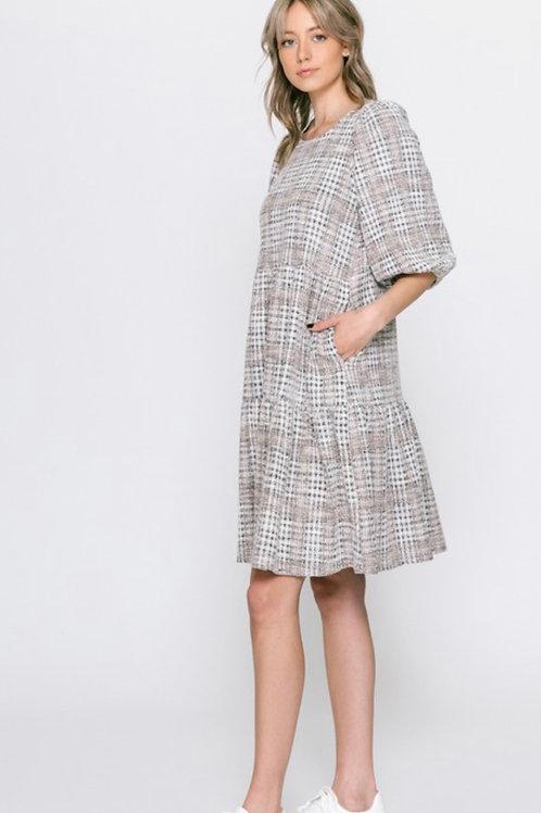 Cali Dress Tweed