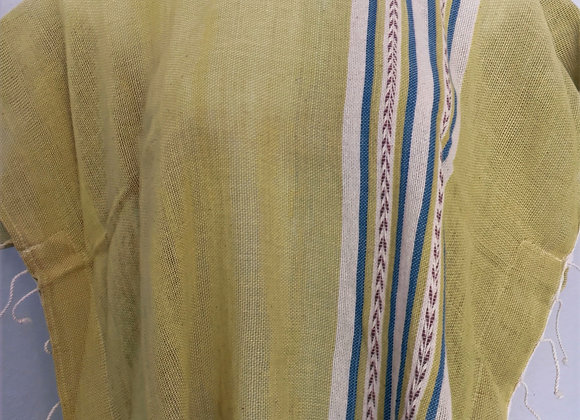 Organic Hand Woven Cotton Top