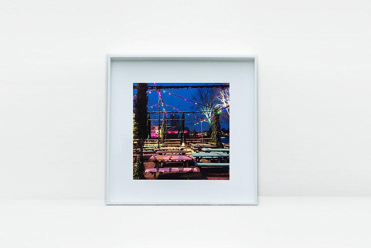 Waterside Bar Amsterdam Photographic Print