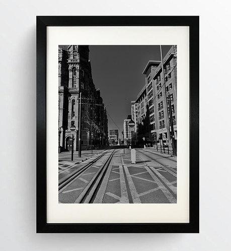 Manchester City Photographic Print