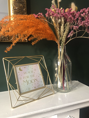 Gold Wire Photo Frame