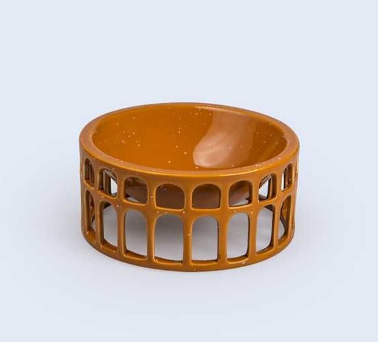 Burnt Orange Decorative Bowl